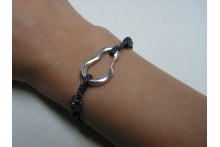 Bracelet for Rock Climbers with Fully Functional Climbing Carabiner
