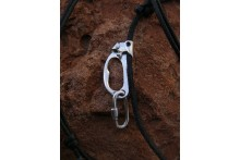 Caving Ascender and Quick Link Necklace