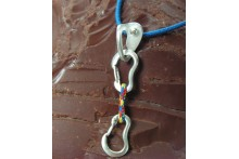 Necklace with Quickdraw and Bolt Hanger